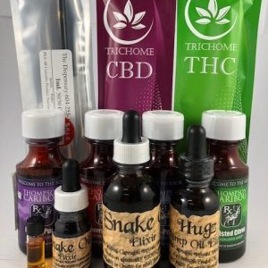 Elixirs, Tinctures, Capsules, and Topicals